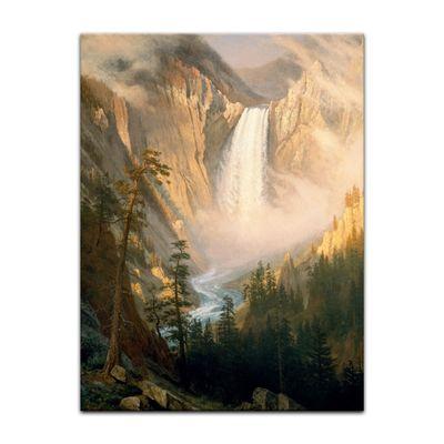 Albert Bierstadt - Yellowstone Falls – Bild 7