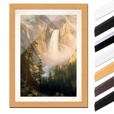 Albert Bierstadt - Yellowstone Falls – Bild 6