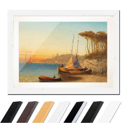 Adolf Kaufmann - Motiv am Meerbusen von Ischia bei Neapel – Bild 8