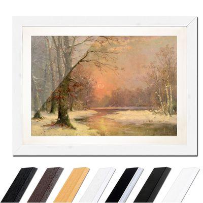 Adolf Kaufmann - Sonnenuntergang in Winterlandschaft – Bild 8