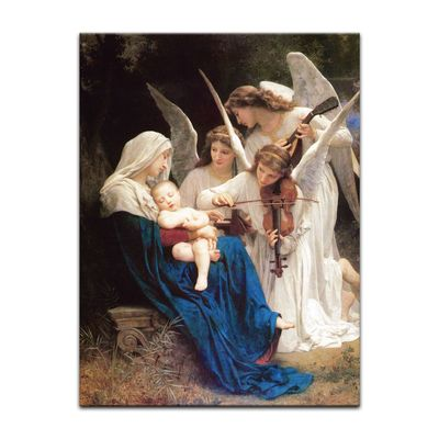 William-Adolphe Bouguereau - Das Lied der Engel – Bild 7