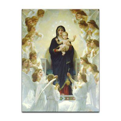 William-Adolphe Bouguereau - Die Jungfrau mit Engel – Bild 7