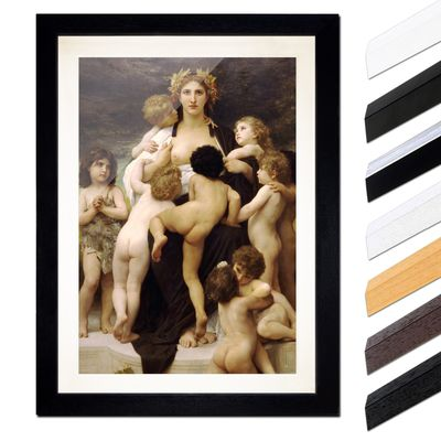 William-Adolphe Bouguereau - Das Mutterland – Bild 1