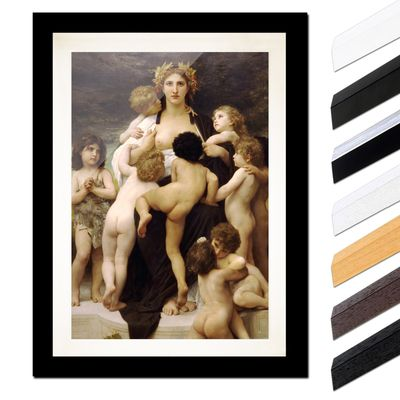 William-Adolphe Bouguereau - Das Mutterland – Bild 3