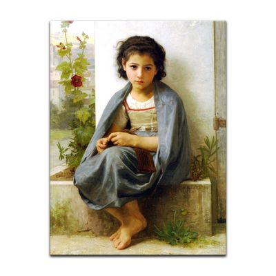 William-Adolphe Bouguereau - Die kleine Stickerin – Bild 7