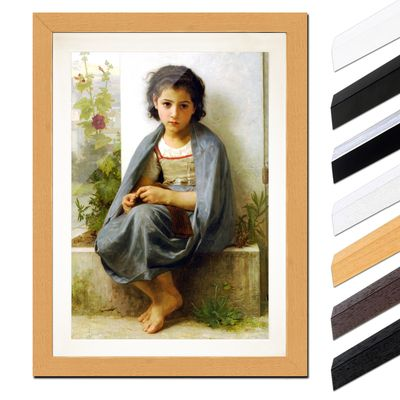 William-Adolphe Bouguereau - Die kleine Stickerin – Bild 6
