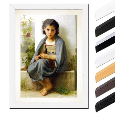 William-Adolphe Bouguereau - Die kleine Stickerin – Bild 8