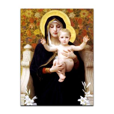 William-Adolphe Bouguereau - Madonna mit Kind – Bild 7