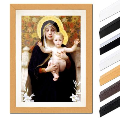 William-Adolphe Bouguereau - Madonna mit Kind – Bild 6