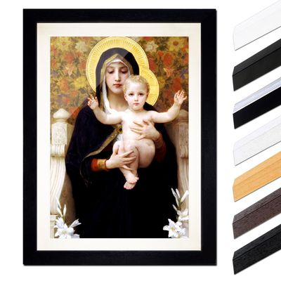 William-Adolphe Bouguereau - Madonna mit Kind – Bild 1