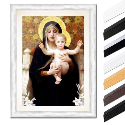 William-Adolphe Bouguereau - Madonna mit Kind – Bild 5