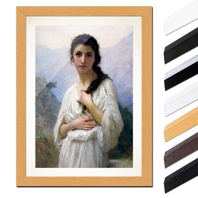 William-Adolphe Bouguereau - Meditation – Bild 6