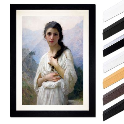 William-Adolphe Bouguereau - Meditation – Bild 1