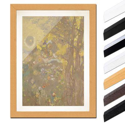 Odilon Redon - Bäume auf einem gelben Hintergrund – Bild 6