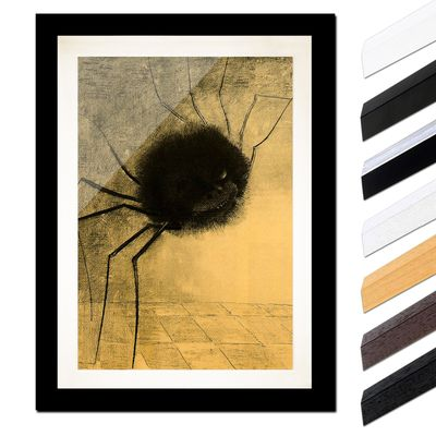 Odilon Redon - Die lächelnde Spinne – Bild 3