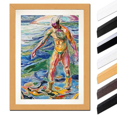 Edvard Munch - Bathing Man - Badender – Bild 6