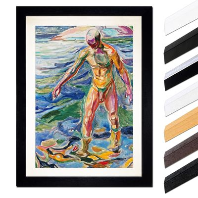 Edvard Munch - Bathing Man - Badender – Bild 1