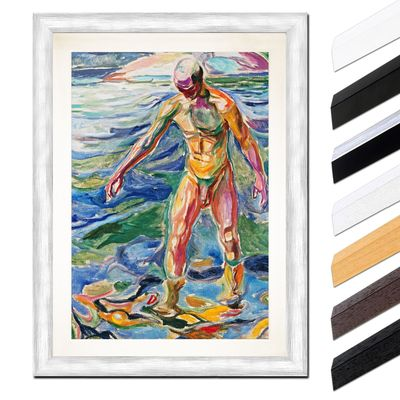 Edvard Munch - Bathing Man - Badender – Bild 5