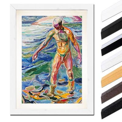 Edvard Munch - Bathing Man - Badender – Bild 8