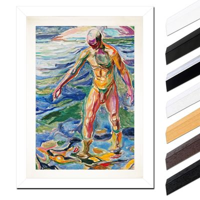 Edvard Munch - Bathing Man - Badender – Bild 2