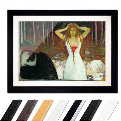 Edvard Munch - Ashes - Asche – Bild 1