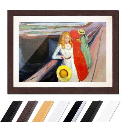 Edvard Munch - Mädchen auf der Brücke I – Bild 4
