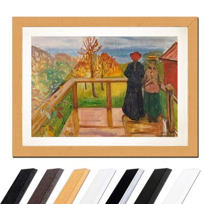 Edvard Munch - On the Veranda – Bild 6
