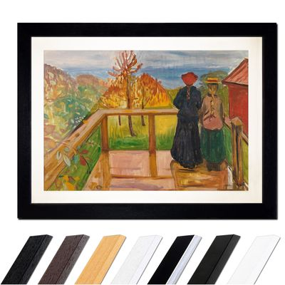 Edvard Munch - On the Veranda – Bild 1