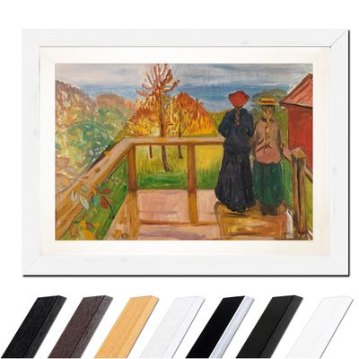 Edvard Munch - On the Veranda – Bild 8