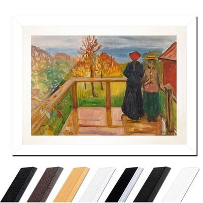 Edvard Munch - On the Veranda – Bild 2