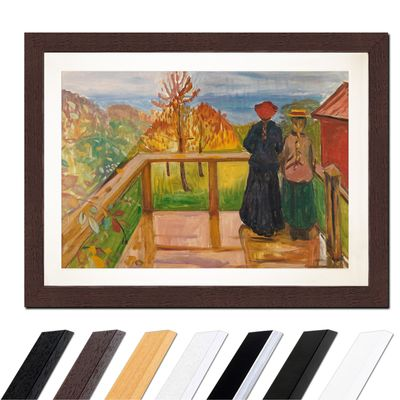 Edvard Munch - On the Veranda – Bild 4