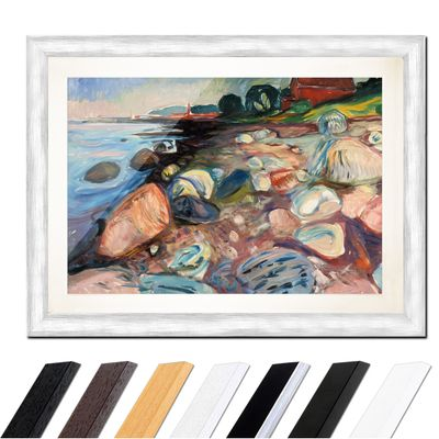 Edvard Munch - Shore with Red House - Küste mit rotem Haus – Bild 5