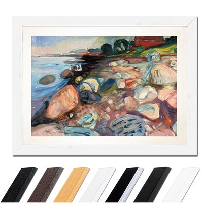 Edvard Munch - Shore with Red House - Küste mit rotem Haus – Bild 8