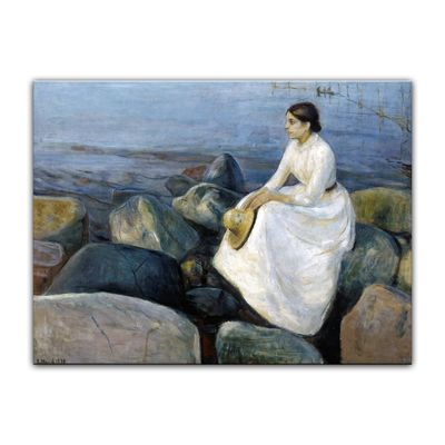 Edvard Munch - Inger on the beach - Inger am Strand – Bild 7