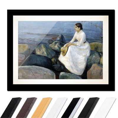 Edvard Munch - Inger on the beach - Inger am Strand – Bild 3