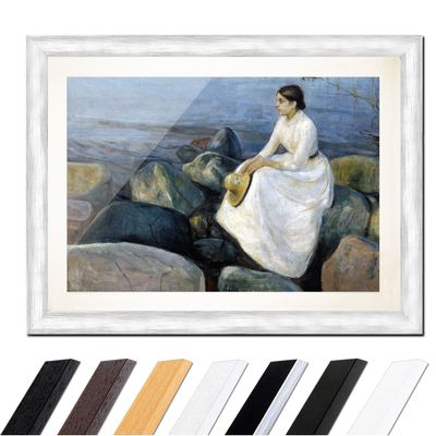 Edvard Munch - Inger on the beach - Inger am Strand – Bild 5