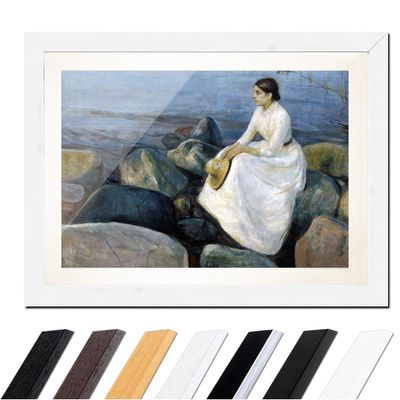 Edvard Munch - Inger on the beach - Inger am Strand – Bild 8