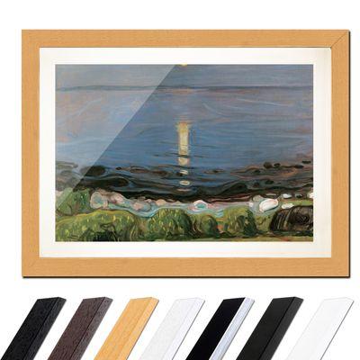 Edvard Munch - Summer night by the beach - Sommernacht am Strand – Bild 6