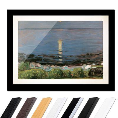 Edvard Munch - Summer night by the beach - Sommernacht am Strand – Bild 3