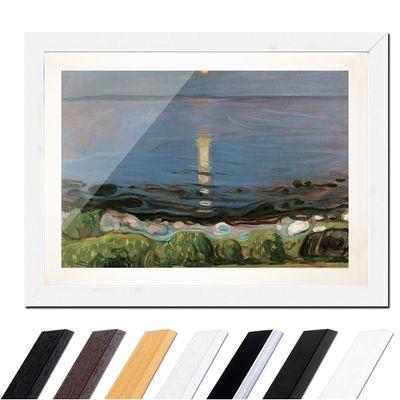 Edvard Munch - Summer night by the beach - Sommernacht am Strand – Bild 8