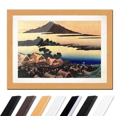 Katsushika Hokusai - Morgendämmerung bei Isawa in der Provinz Kai – Bild 6