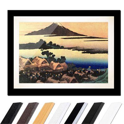 Katsushika Hokusai - Morgendämmerung bei Isawa in der Provinz Kai – Bild 3