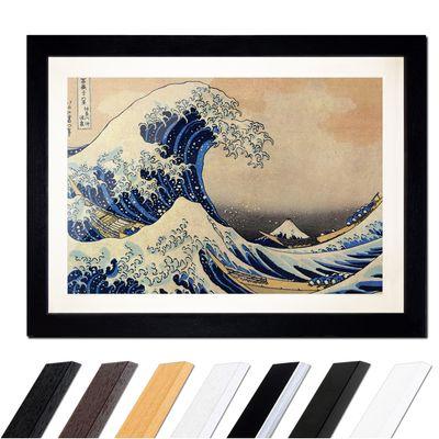 Katsushika Hokusai - Die große Welle vor Kanagawa – Bild 1