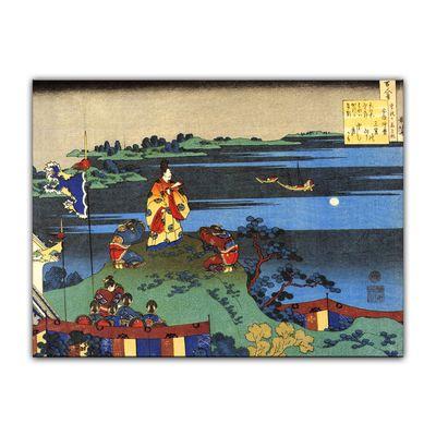 Katsushika Hokusai - Das Gedicht von Abe no Nakamaro – Bild 7