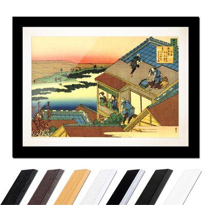 Katsushika Hokusai - Das Gedicht von Ise – Bild 3