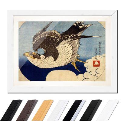 Katsushika Hokusai - Falke im Flug – Bild 8