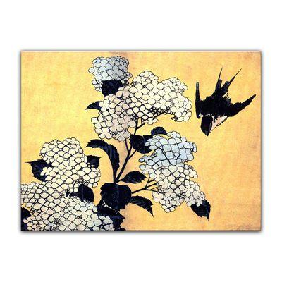 Katsushika Hokusai - Hydrangea – Bild 7