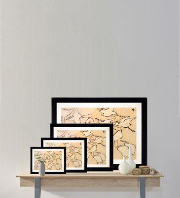 Katsushika Hokusai - Kraniche – Bild 10