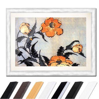 Katsushika Hokusai - Mohnblumen – Bild 5