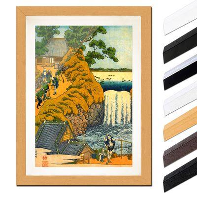 Katsushika Hokusai - Der Aoigaoka Wasserfall in der Hauptstadt – Bild 6
